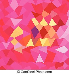Brink Pink Abstract Low Polygon Background - Low polygon...