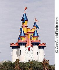 brinquedo, castelo