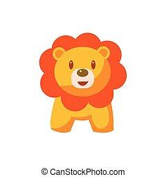 brinquedo, leão africano
