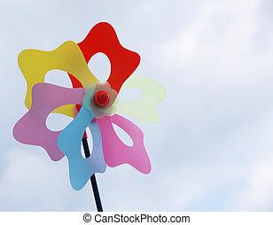 brinquedo, moinho de vento