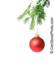 brinquedo, Natal, ramo