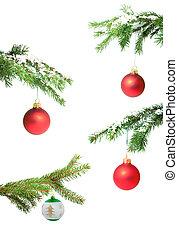 brinquedo, ramos, natal