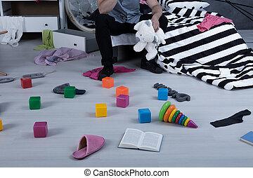 brinquedos, chão