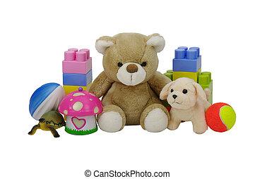 brinquedos, cobrança