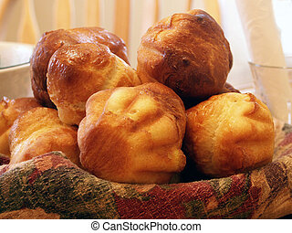Brioches is a tasty traditional French pastry eaten at ...