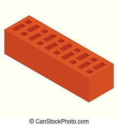 brique, céramique, rouges
