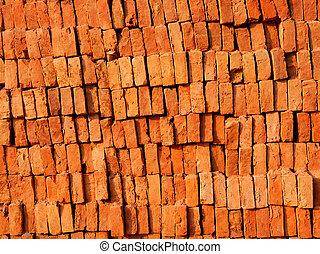 brique, pile