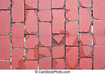 brique, rouges