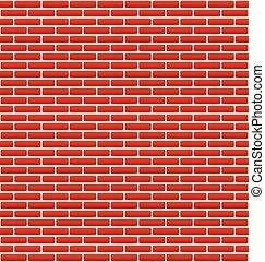 brique, texture, mur, briques, petit