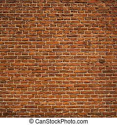 briques, fond