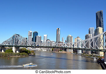 brisbane égvonal, ausztrália, -queensland
