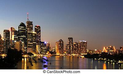 Brisbane by the river Austarlia
