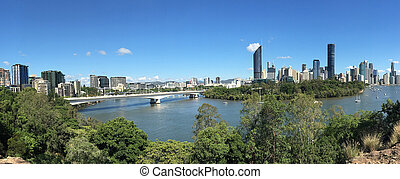 Brisbane Panoramic Landscape View
