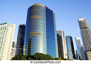 brisbane, perfil de ciudad, australia