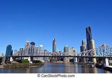 Brisbane Skyline -Queensland Australia - BRISBANE, AUS - SEP...