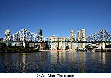 Brisbane - Post card image of Brisbane Auatralia