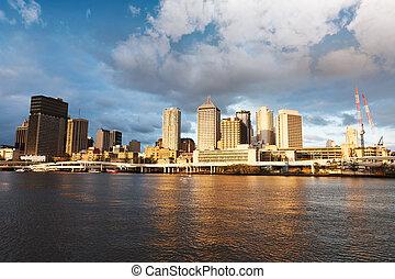 Brisbane urban landscape