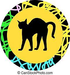 bristle cat
