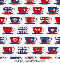 británico, teatime