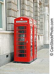britânico, cabinas telefônicas