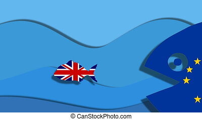 Britain Brexit, politic situation between great britain and...
