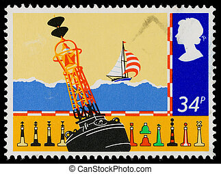 Britain Safety at Sea Postage Stamp