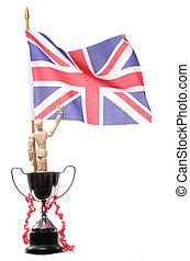 Britain winning at the olympics