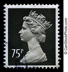 britain, znaczek pocztowy