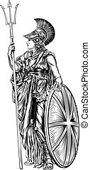 Britannia Illustration - An original illustration of...