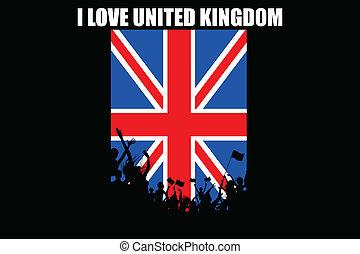 Brithish People Cheering