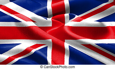 britisch, flag.