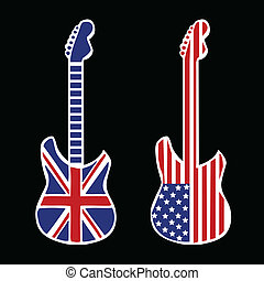 British and American Rock and Roll