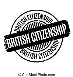 British Citizenship rubber stamp