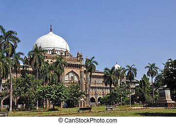 British colonial architecture in Mumbai, formerly Bombay, India.
