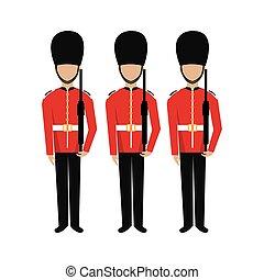 British design. - British design over white background,...