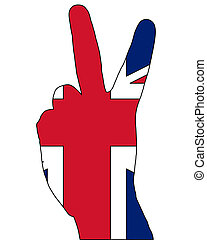British finger signal