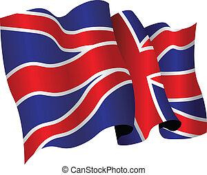 british flag - national flag of britain
