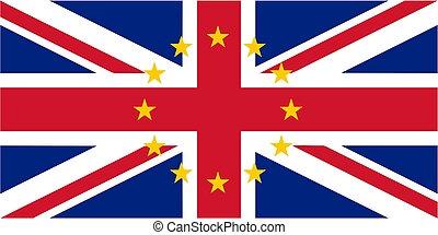 British Flag of United Kingdom