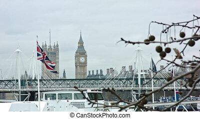 British Flag with Big Ben