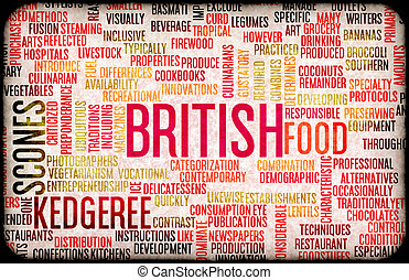 British Food Menu