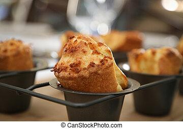 British food - Yorkshire Pudding, British style popover - ...