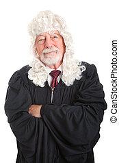British Judge - Kind and Fair