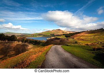 british landscape dovestone - Classic british landscape at...