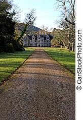 British manor house - Traditonal iconic english manor house...