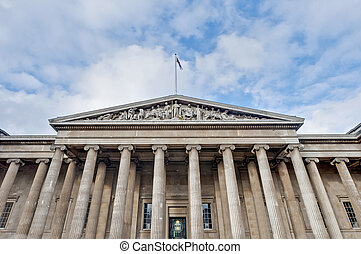 British Museum at London, England - British Museum main...