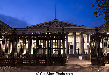 British Museum at Night. British Museum is one of the...