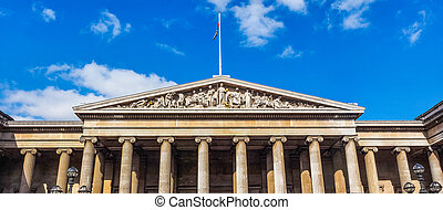 British Museum in London HDR - High dynamic range HDR The...