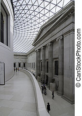 British Museum, London - London, UK, September 9 2012:...
