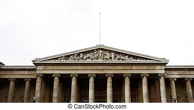 British Museum, London - The British Museum in London,...
