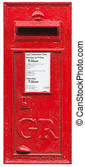 British Pillar Box